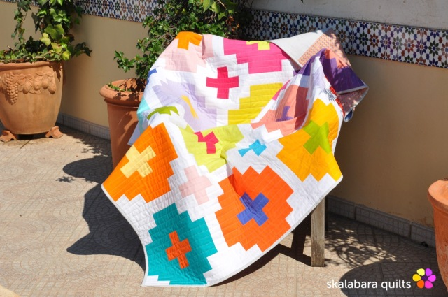 cross tile quilt 4 - skalabara quilts