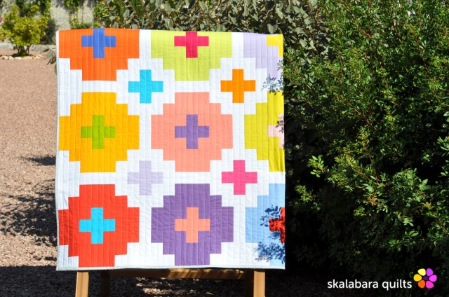 cross tile quilt 5 - skalabara quilts