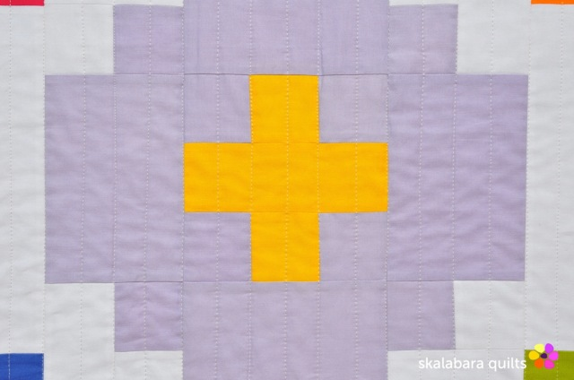 cross tile quilt detail 1 - skalabara quilts