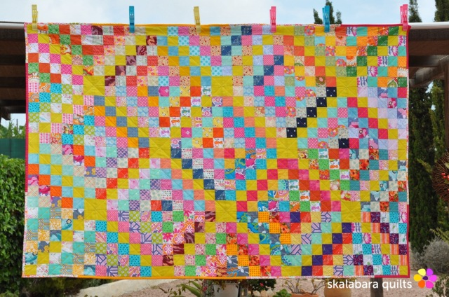 trip around the world quilt - skalabara quilts