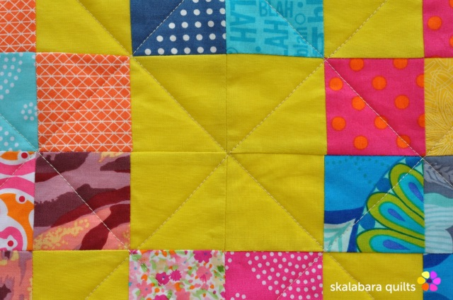 trip around the world detail 2 - skalabara quilts