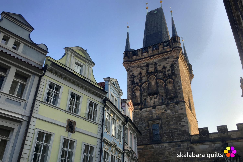 lesser town bridge towers prague - skalabara quilts