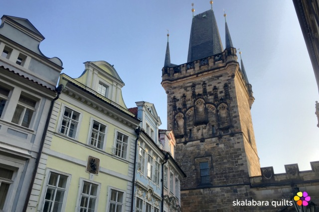 lesser town bridge towers prague - skalabara quilts