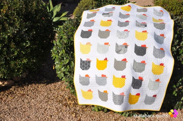 chicken quilt 5 - skalabara quilts
