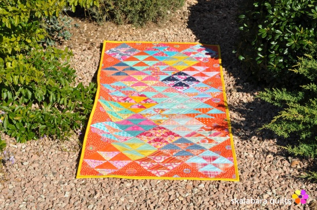 chair cover quilt 2 - skalabara quilts