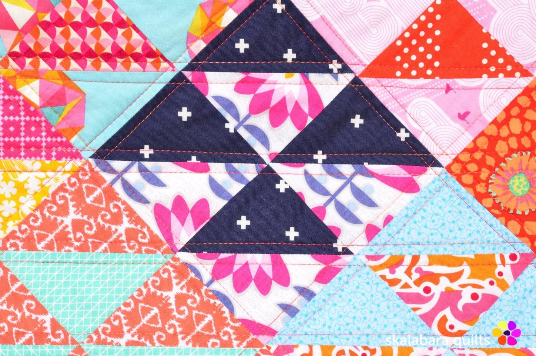chair cover quilt detail 2 - skalabara quilts