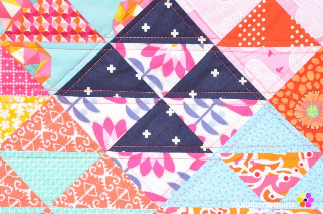 chair cover quilt detail 2 - skalabara quilts