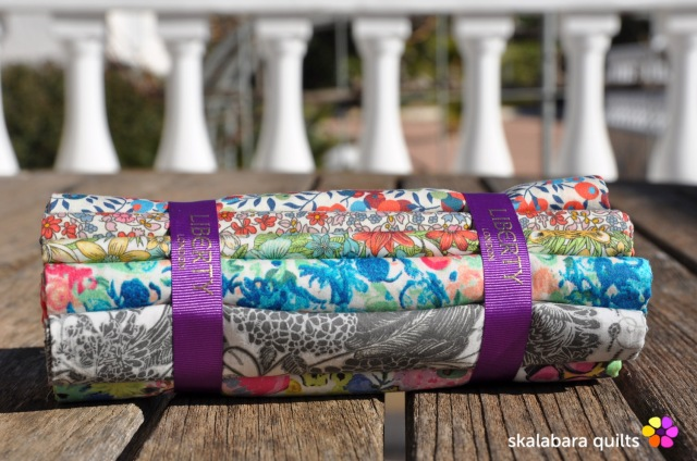 liberty london fabric bundle 4 - skalabara quilts