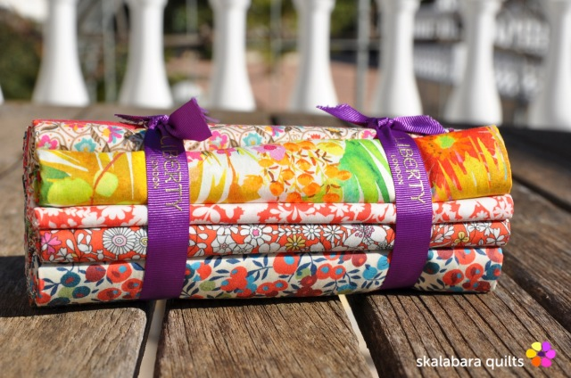 liberty london fabric bundle 5 - skalabara quilts