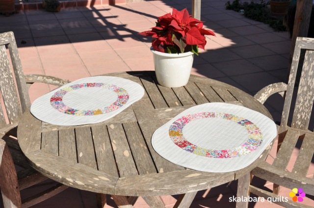 liberty wheel placemats 1 - skalabara quilts