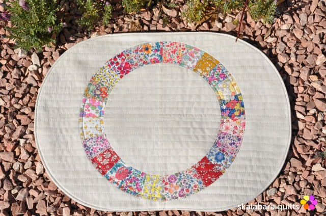 liberty wheel placemats 3 - skalabara quilts