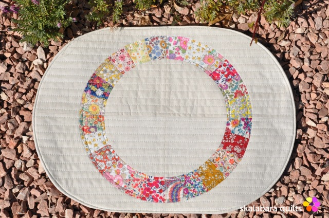 liberty wheel placemats 4 - skalabara quilts