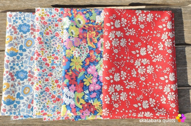 liberty london fabric fq primary classics 40th 940 - skalabara quilts