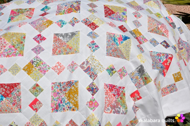 levitating liberty jewel box quilt 3 - skalabara quilts
