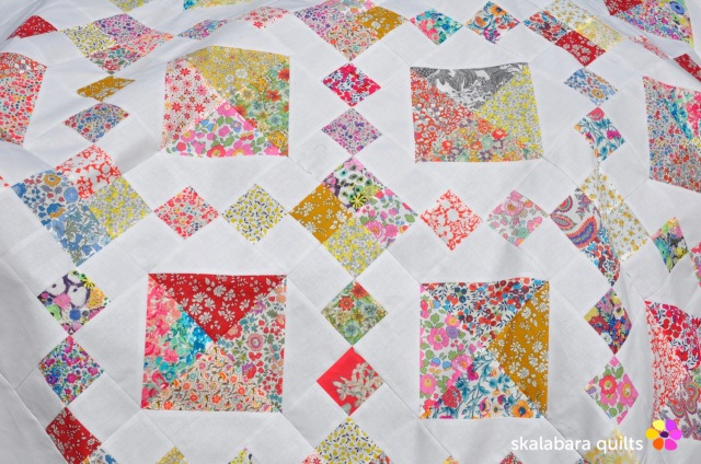 levitating liberty jewel box quilt 4 - skalabara quilts