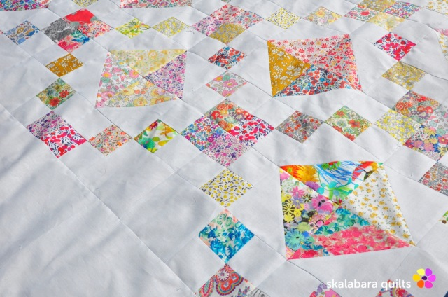 levitating liberty jewel box quilt 5 - skalabara quilts