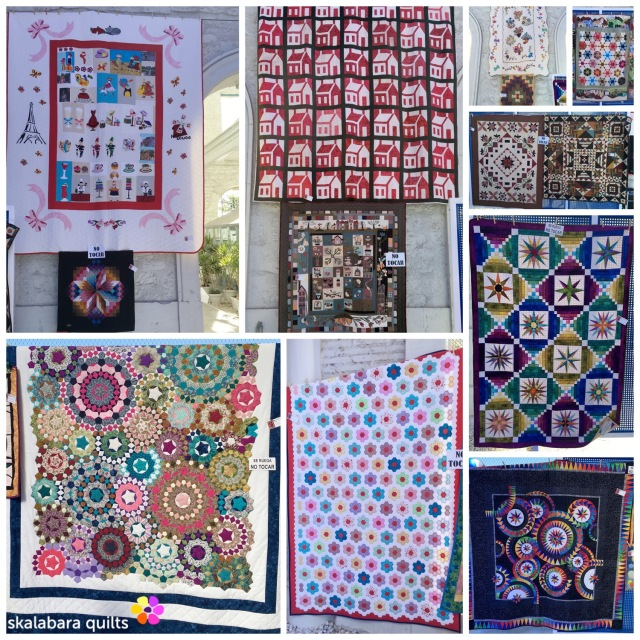 alicante quilts collage - skalabara quilts