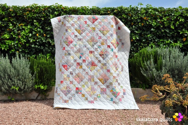 levitating liberty jewel box silver quilt 10 - skalabara quilts