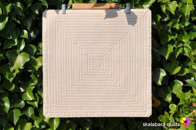 cushion cover log cabin with kaffe fassett fabrics 6 - skalabara quilts