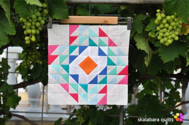 summer sampler 2019 block 2 - skalabara quilts