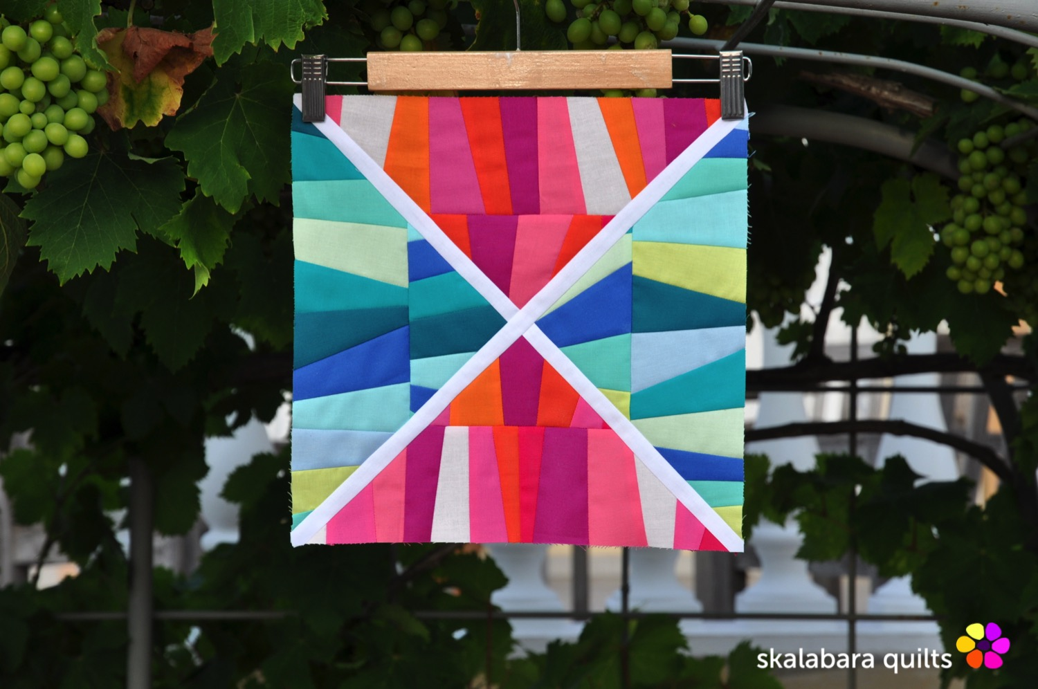 summer sampler 2019 block 3 - skalabara quilts