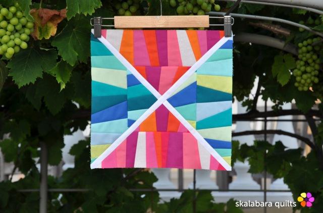 summer sampler 2019 block 3 - skalabara quilts