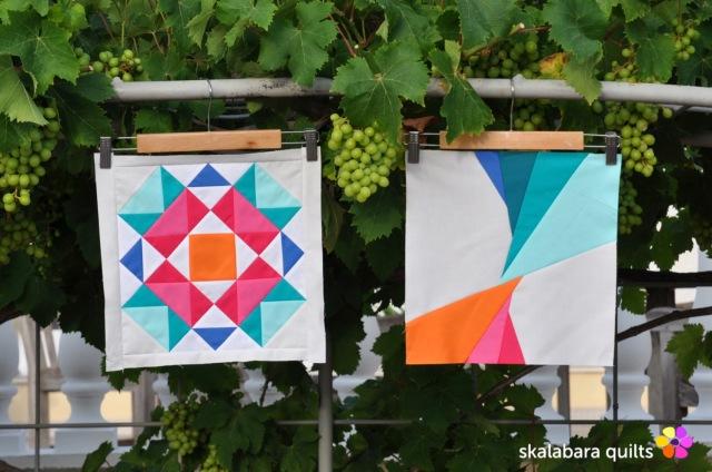 summer sampler 2019 block 4 + 5 - skalabara quilts