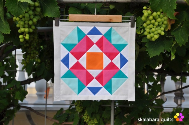 summer sampler 2019 block 4 - skalabara quilts