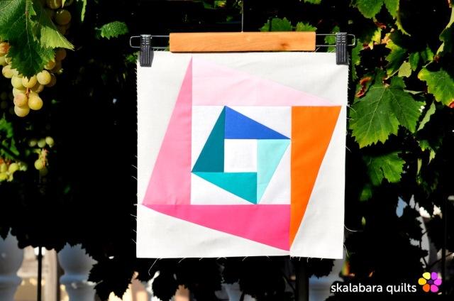 summer sampler 2019 block 10 - skalabara quilts