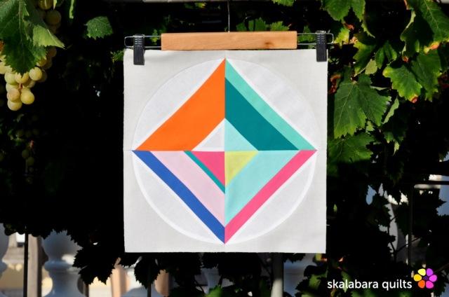 summer sampler 2019 block 11 - skalabara quilts