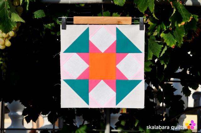 summer sampler 2019 block 12 - skalabara quilts
