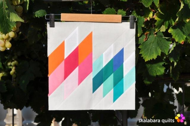 summer sampler 2019 block 13 - skalabara quilts