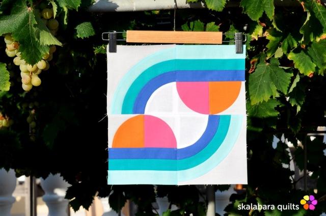 summer sampler 2019 block 6 - skalabara quilts