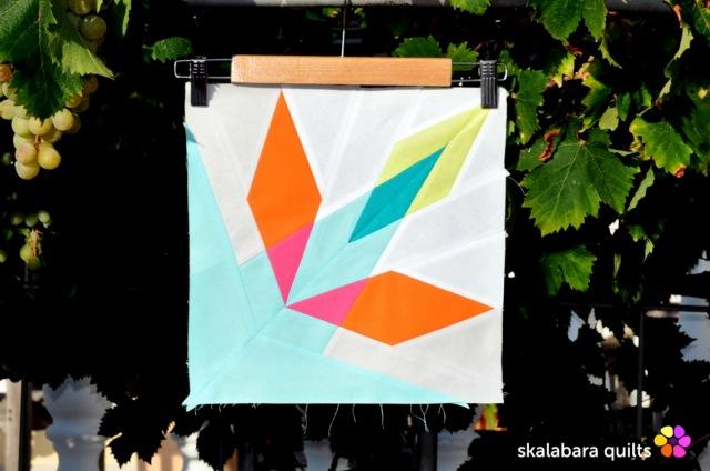 summer sampler 2019 block 7 - skalabara quilts