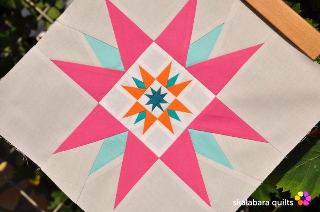 summer sampler 2019 block 8 quer - skalabara quilts