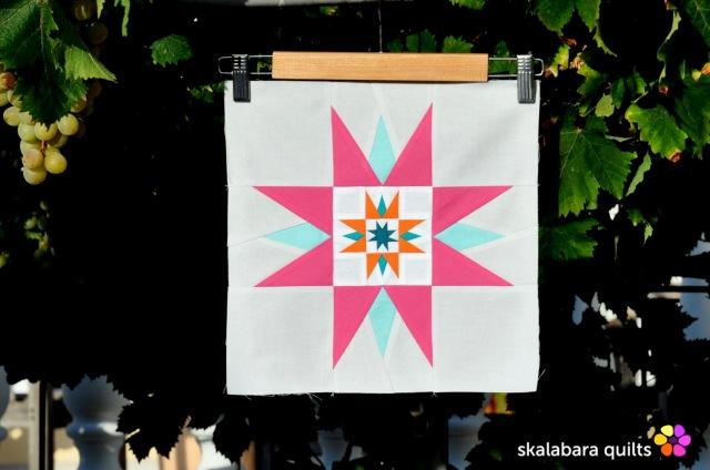 summer sampler 2019 block 8 - skalabara quilts