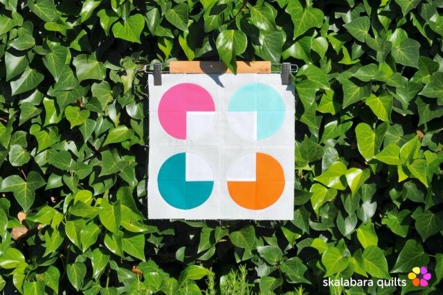 summer sampler 2019 block 15 - skalabara quilts