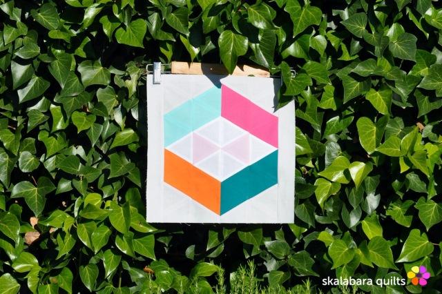 summer sampler 2019 block 16 - skalabara quilts