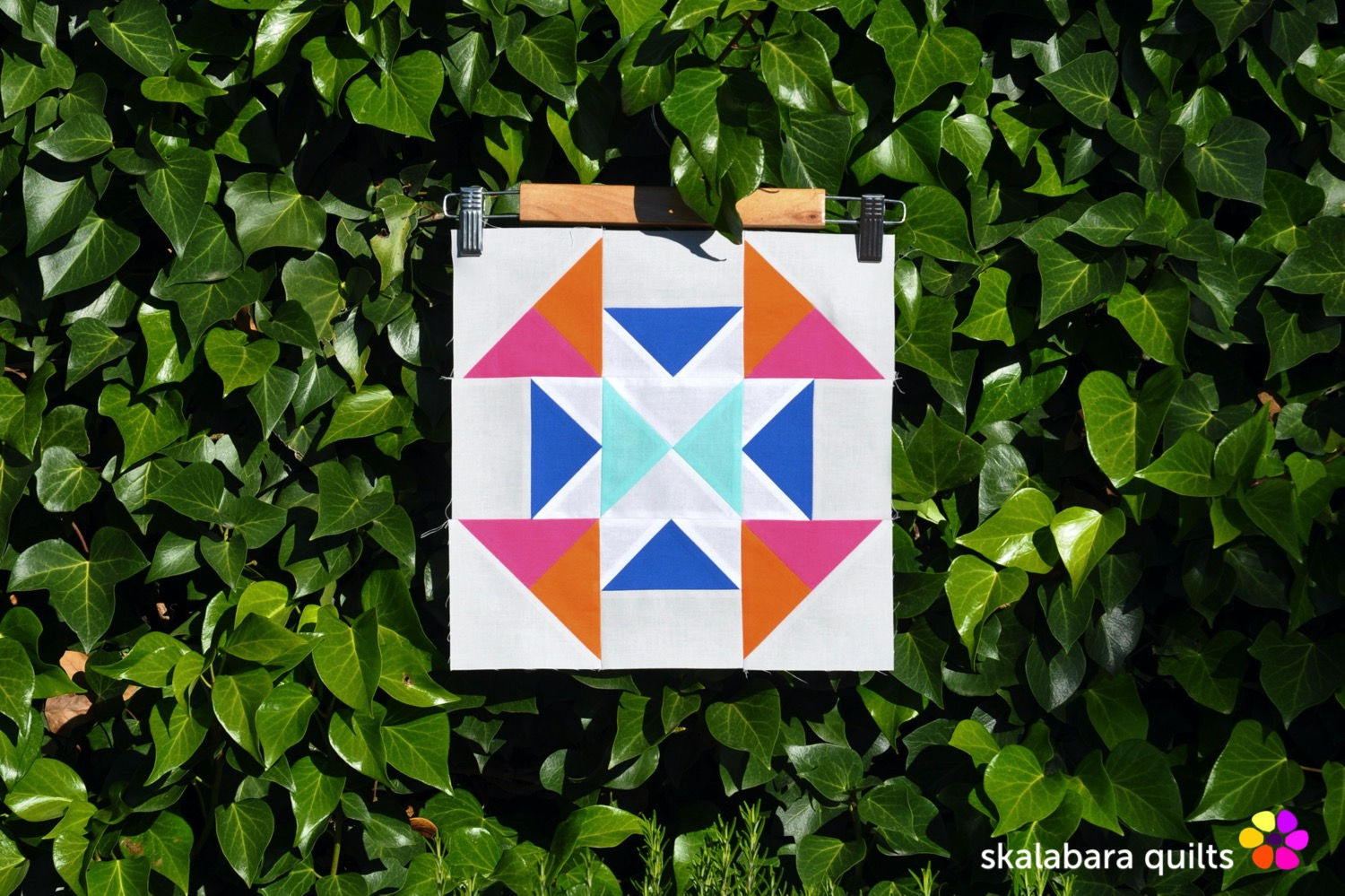 summer sampler 2019 block 18 - skalabara quilts