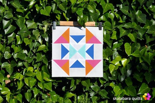 summer sampler 2019 block 18 - skalabara quilts