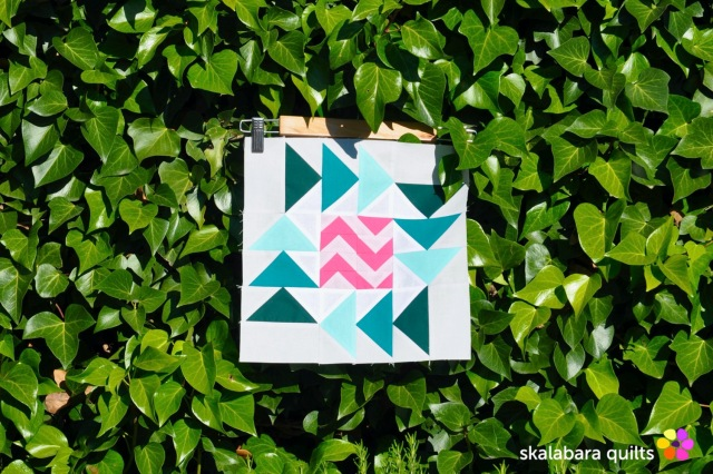 summer sampler 2019 block 19 - skalabara quilts