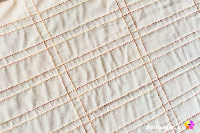 cushion cover yellow quilting - skalabara quilts