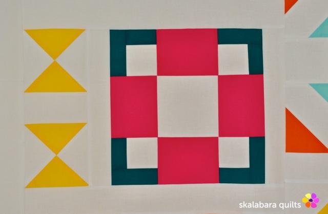 modern sampler - hopscotch - skalabara quilts