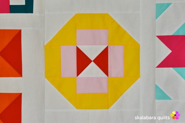 modern sampler - hourglass - skalabara quilts
