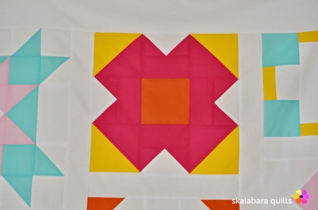 modern sampler - shine on - skalabara quilts