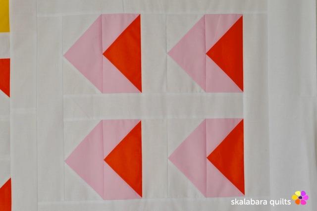 modern sampler - sideway arrows - skalabara quilts