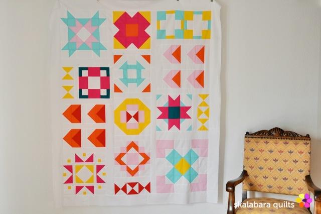 modern sampler - skalabara quilts