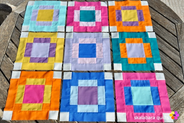 radiate block 1 - skalabara quilts