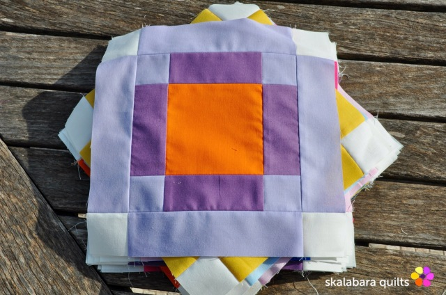radiate block 10 - skalabara quilts