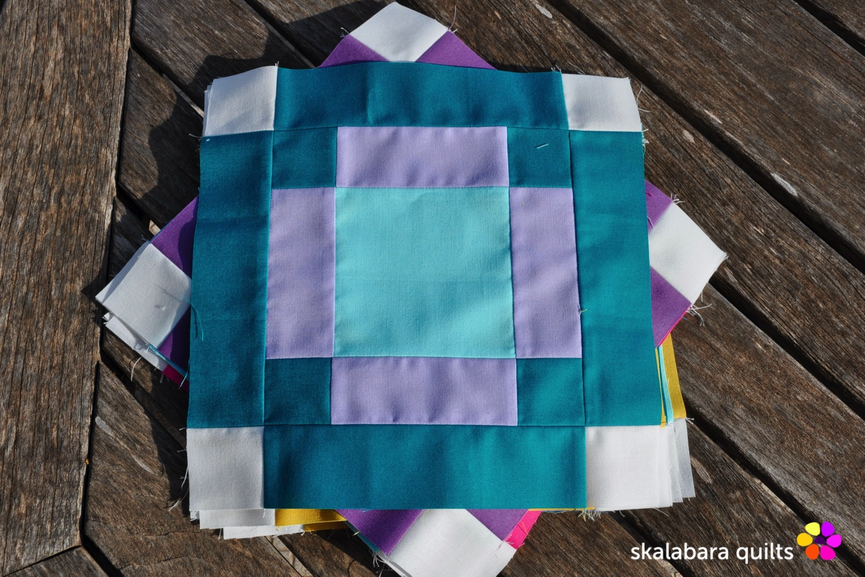 radiate block 11 - skalabara quilts
